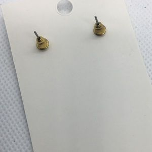 Jewelry - 4 for $12: Simple Gold Tone Triangle Earrings